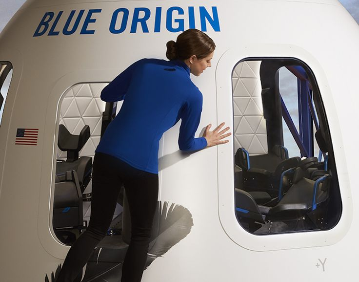 Blue Origin recently revealed the interior of their New Shepard crew capsule which the company hopes to fly next year. New Shepard will carry up to six people on an 11-minute suborbital flight high above Texas.