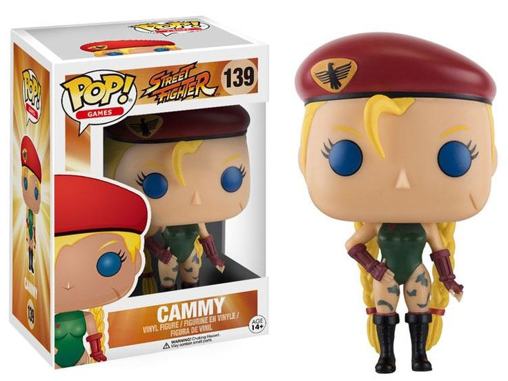 Pop! Games: Street Fighter - Cammy - Street Fighter Figures