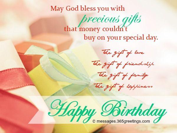 Best 20 Christian birthday wishes ideas – Greetings on Birthday