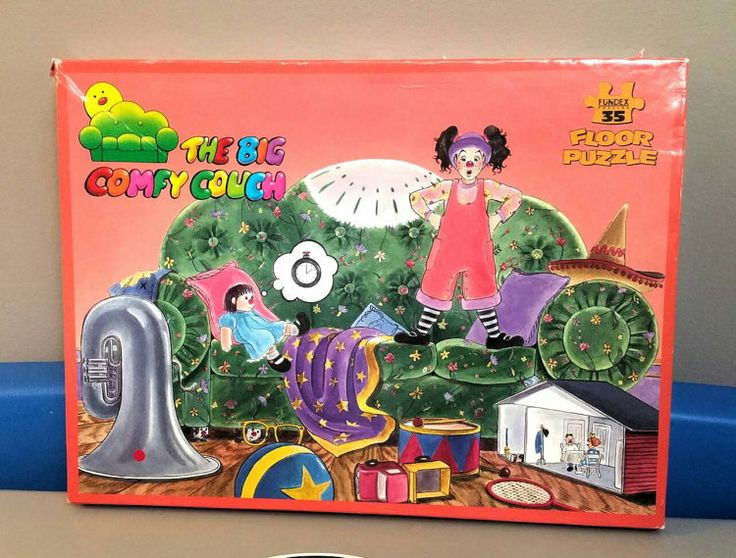 "Fundex ""The Big Comfy Couch"" floor puzzle"