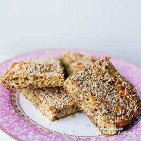 Jag får ofta frågor om jag kan rekommendera något bröd som är nötfritt och det är ju tyvärr så att många spannmålsfria bröd är bakade på mandelmjöl. Jag uppdaterade därför mitt goda fröbrödoch om något så blev det såååååå mycket godare! Prova gärna detta! Det kan vara ett av de godaste brödrecepten som jag publicerat […]