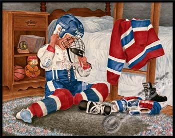 "Hockey art ""A New Season"" by John Newby"