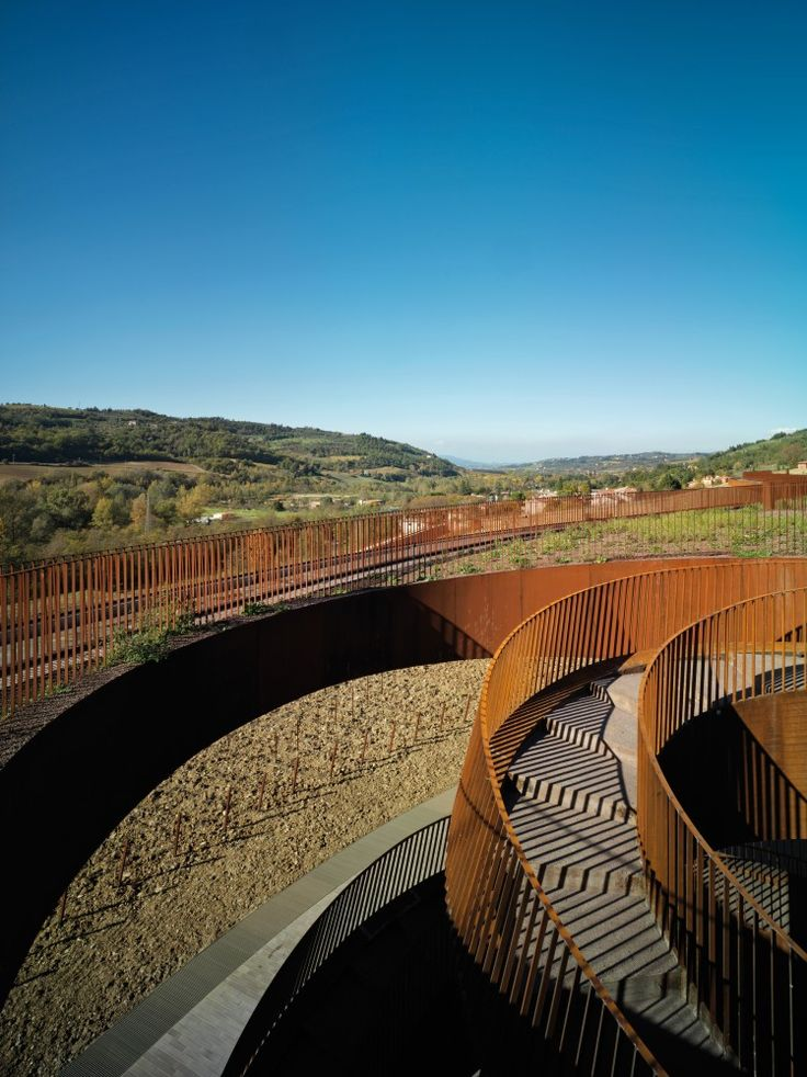 antinori winery - firenze italy - archea associati - photo by pietro savorelli