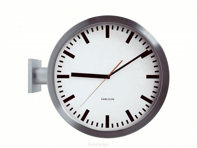 Zegar ścienny Double Sided by Karlsson dwustronny (5307093195) - Allegro.pl - Więcej niż aukcje.
