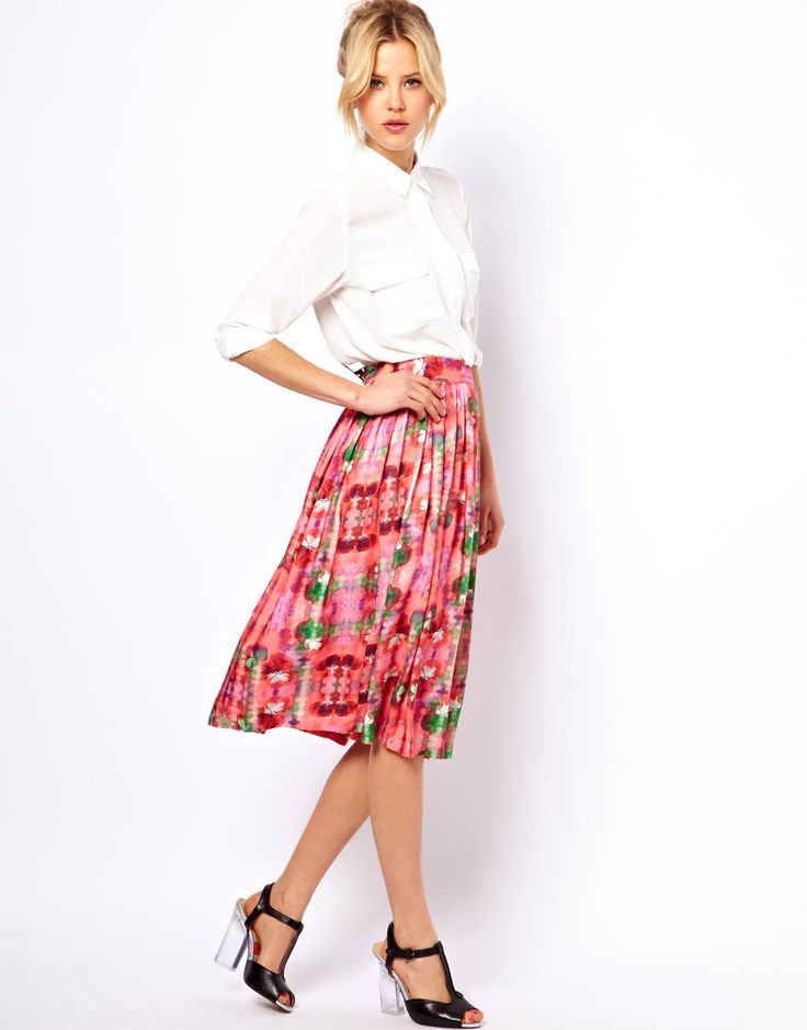 17 Best images about MIDI skirts on Pinterest | Flats, Skirts and ...