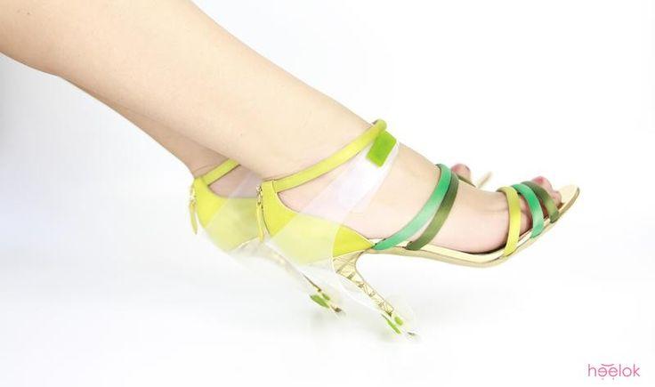 HEELOK (green, zielony) HEELOK