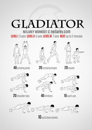 300 Workout | Twinkle Toes | Pinterest | Gladiator workout ...