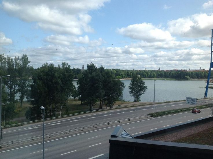 Great view from one of our offices in Helsinki. Happy Summer‬. #education