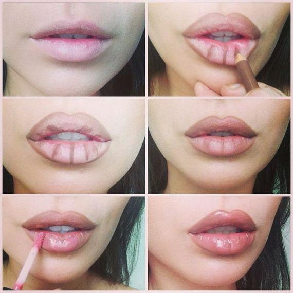 Doğal Yollarla Dudak Dolgunlaştırma Yöntemleri #lips