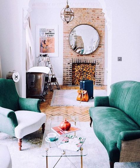 Home Design Ideas Facebook: 25+ Best Ideas About Exposed Brick Fireplaces On Pinterest