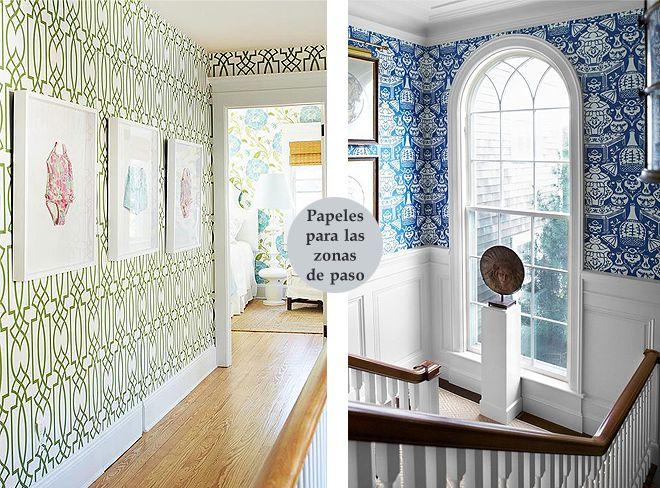 Papeles pintados para pasillos papel pintado - Papeles pintados para pared ...