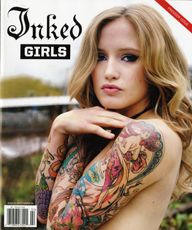Heavy Metal Magazine Girls | INKED GIRLS magazine cover main