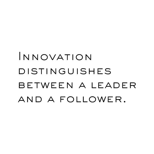 innovation distinguishes between a leader and a follower Innovation distinguishes between a leader and a  northlander begins to manufacture park models to  innovation distinguishes between a leader and a follower .