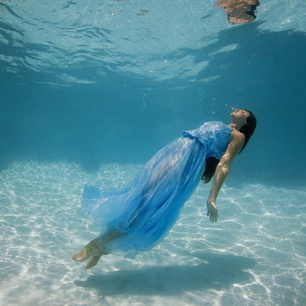 #underwater #girl