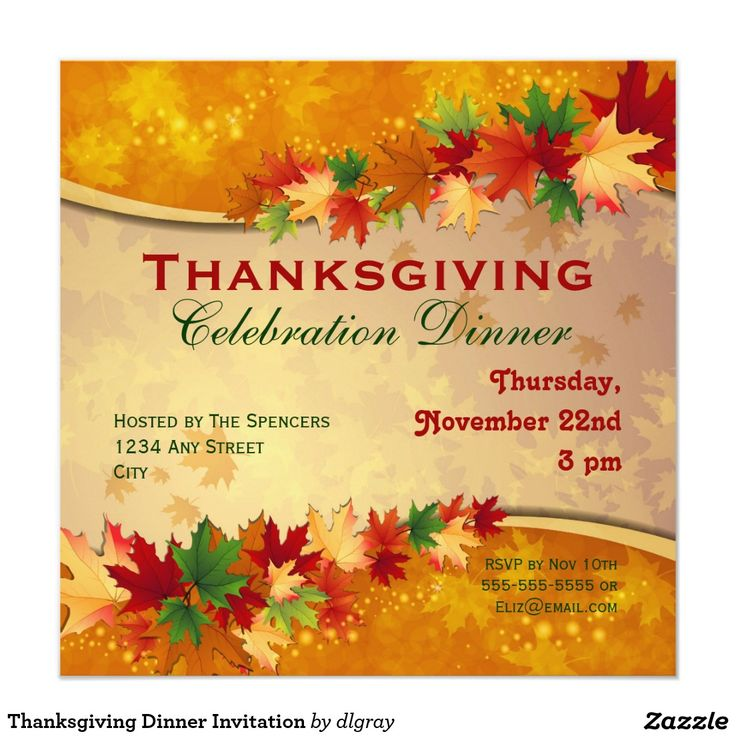 Best Thanksgiving Invites Images On   Invites