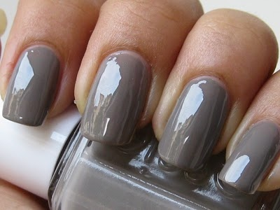 Essie: ChinChilly. Love this color! Super glossy.Grey Nails, Essie Nails, Nail Polish, Makeup, Essie Chinchilly, Chinchilly Essie, Gray Nails, Nails Polish, Chinchilly Polish