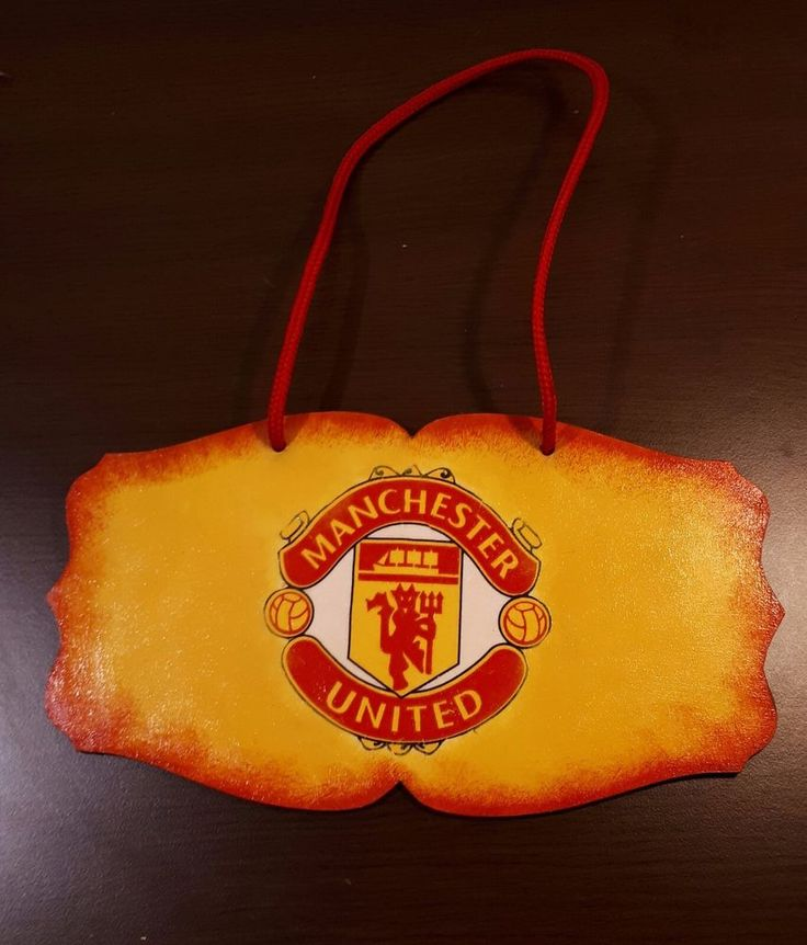 Unique decoupage handmade football Manchester United wooden door or wall decor | Sports Mem, Cards & Fan Shop, Fan Apparel & Souvenirs, Soccer-National Teams | eBay!