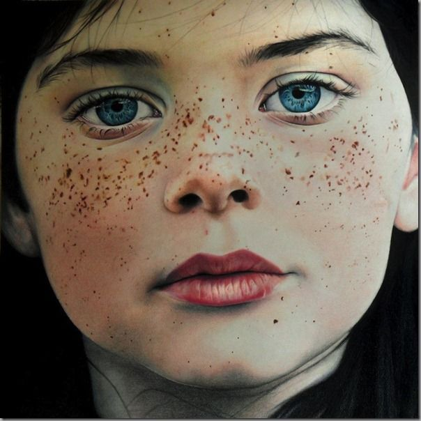 Photorealistic Colored Pencil Drawings by Amy Robins
