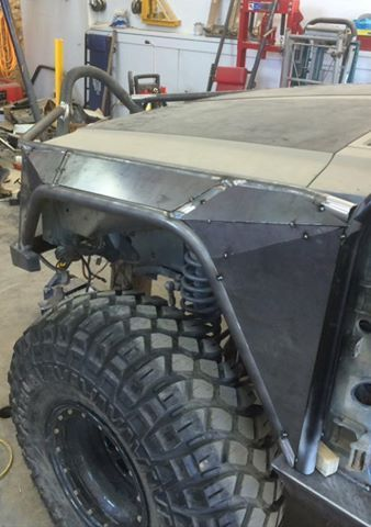 Fenders or flares?  Yes!                                                                                                                                                                                 More