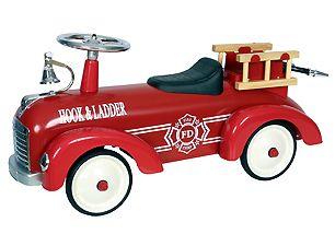 Nieuwe loopauto's bij Toys XL met o.a. de Loopauto Metaal Speedster Fire