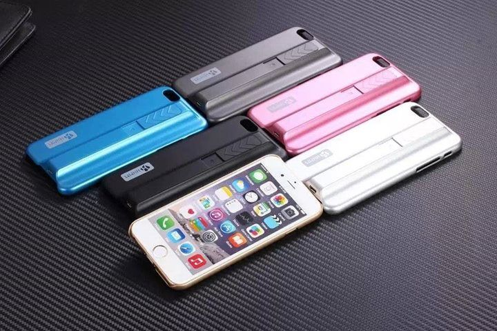 HHMM Lighter Phone Case for iPhone 6 , 6+  RM49.90 Only  Color Available: *Black, Silver, Grey, Gold, Pink, Blue  Description  This model is compatible: Hard case for iPhone 6 & 6 Plus. Protect your phone from scratches, dirt and bumps. Precise openings on the protector case to allow access to all controls and features on the phone. Easy to install and remove. With 400 mAh high-capacity battery, one charge can light 80 cigarettes   1. 100% brand new and high-quality. 2. Accurately designed…