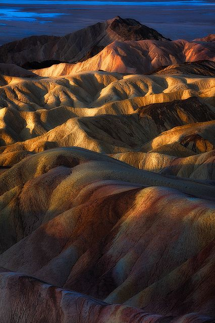 ~~This Light Between Us | Sunrise at Zabriskie Point, Death Valley, California by Eddie 11uisma~~