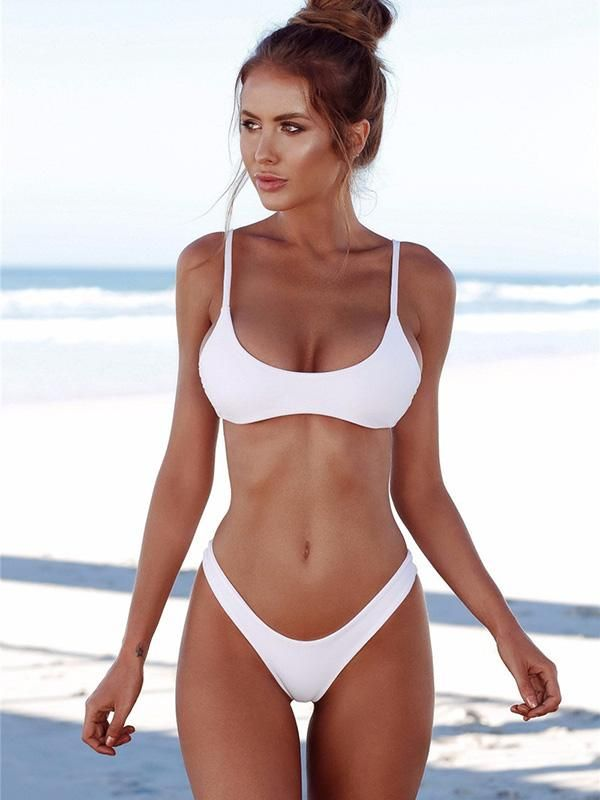 f82246dee3e18 Sexy Solid Tight Bikinis Swimwear in 2019 | For the Home | Bikini ...