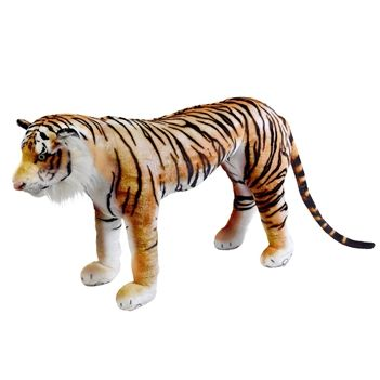 Stuffed Tiger 40 Inch Ride-On Plush Animal by Fiesta | @giftryapp