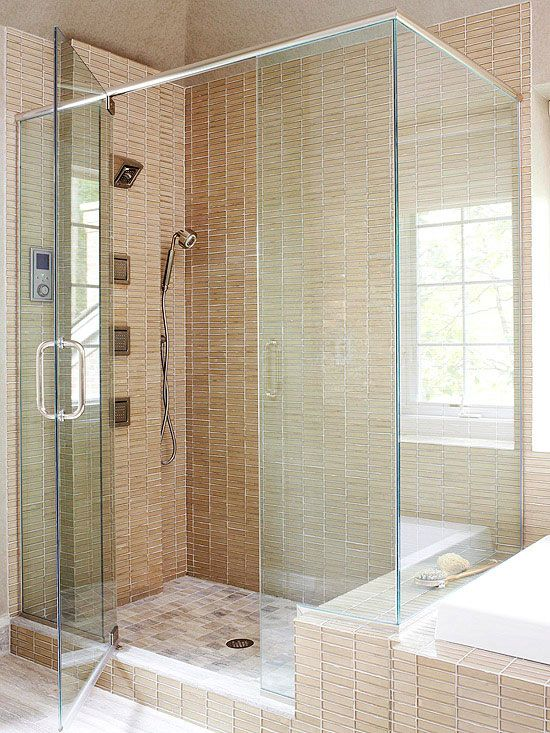 Glass showers different types different types of and frameless shower - Different showers ...