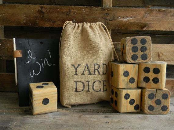Giant Yard Dice - $31.99. https://www.bellechic.com/deals/031352abec4d/giant-yard-dice