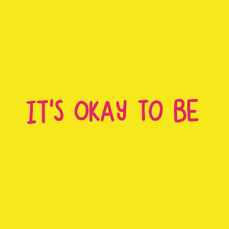 It's Okay To Be Up and Down