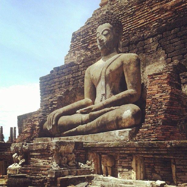 Buddha, Sukhothai, Thailand #kursnawschod #polska #polski #blog #podróżniczy #podróże #podróż #sukhothai #tajlandia #azja #budda #thailand #asia #buddha #travel #traveling