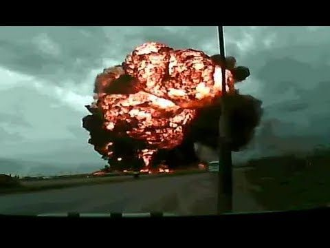 Dramatic footage: Cargo Boeing 747 crashes at Bagram Airfield, via YouTube.
