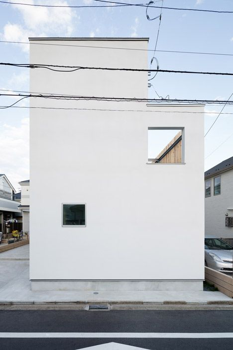 Exterior of House K by Yuji Kimura Design