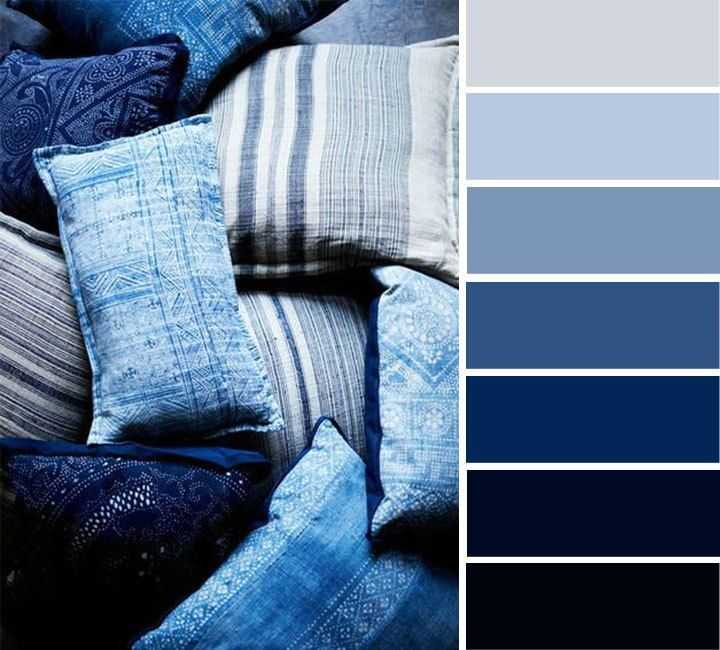 Indigo color palette  b02987bb9