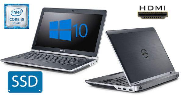 "Super Fast & Slim Dell Latitude E6230 Pristine Laptop Intel Core i5 upto 3.40GHz, 8 GB Ram, Fast 128GB SSD Hard Drive, Intel HD 4000 Graphics, HDMI, 720p HD WebCam, Windows 10, 12.5"" 720p HD LED Wide Screen Display, WiFi, Bluetooth, 3 x USB, Card Reader"
