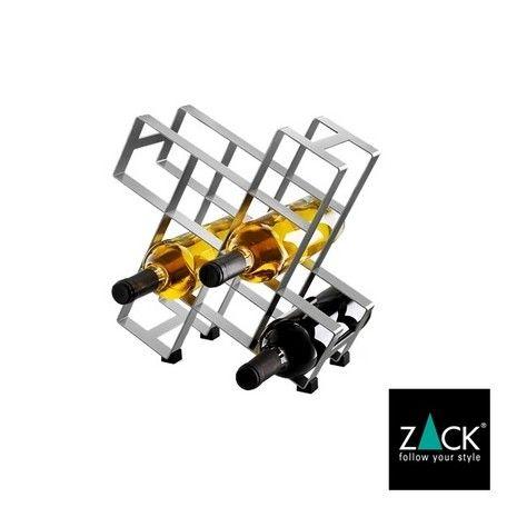 ZACK社のステンレス製ボトルラック(8本用)2015年2月にフランクフルト・アンビエンテで発表されたボトルラック(8本用)です。ZACKにボトルラックはいくつかありますが、こういうデザインは初めて出てきましたね。8本全部入れてしまうより、5~6本にしてスペースを「見せておく」のも良いですね。その5~6本の差し方でもまた、センスが出てきそうです。ゴム足付きなので、置く場所にもキズつけたりはしないはずです。■ZACKについてZACK社は1985年に創業者であり、現オーナーでもあるドイツ人のベルント・マカロウ氏によって、ドイツのオシュテインベックで設立された、ステンレス製ハウスウェアの専業メーカーです。 英語圏の国では「ザック」と発音されることが多いのですが、本国ドイツでは「ツァック」と発音します。 早くからその独特の思想に基づいたデザインが知られ、およそ20年経った今日では、ステンレス製デザイン・ハウスウェアの著名なブランドの1つとして、主にヨーロッパと北米で広くリスペクトを集めています。【特徴】タンブラー コップ グラス ステンレス ドイツ ザック ツァック 機能性 機能美…