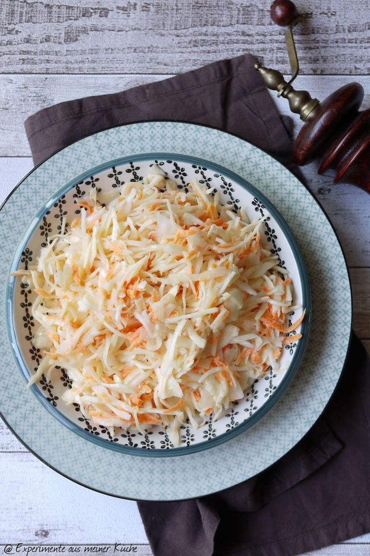 Experimente aus meiner Küche: Coleslaw (amerikanischer Krautsalat)