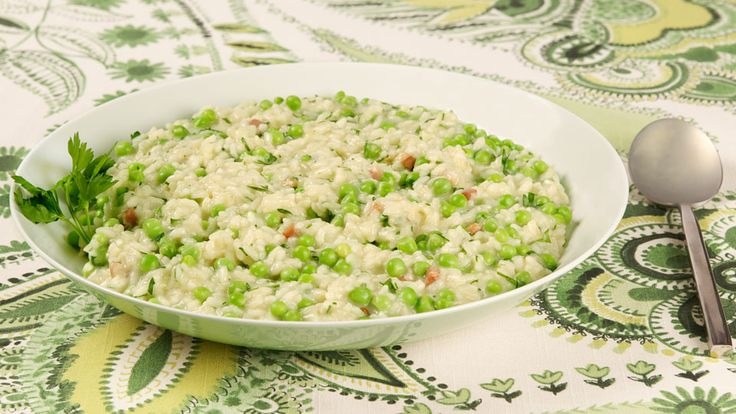 ... - Risi e bisi, or rice and peas, is a classic Northern Italian dish