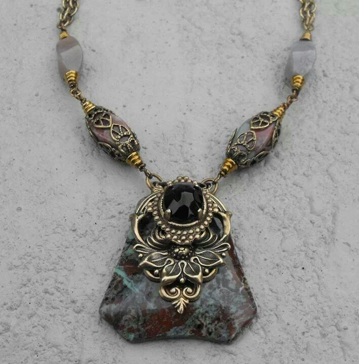vintage jewelry supplies necklaces