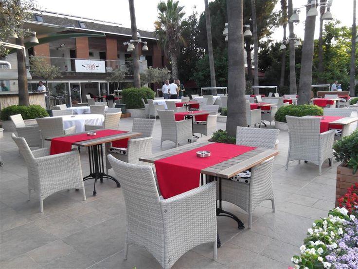 Restaurant & Cafe & Otel dış mekan mobilyaları. www.settehome.com