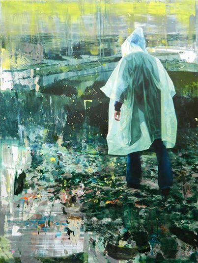 Giuseppe Gonella, Reassuring Horizons 2014, Acryl auf Leinwand/Acrylic on canvas 200 x 150 cm