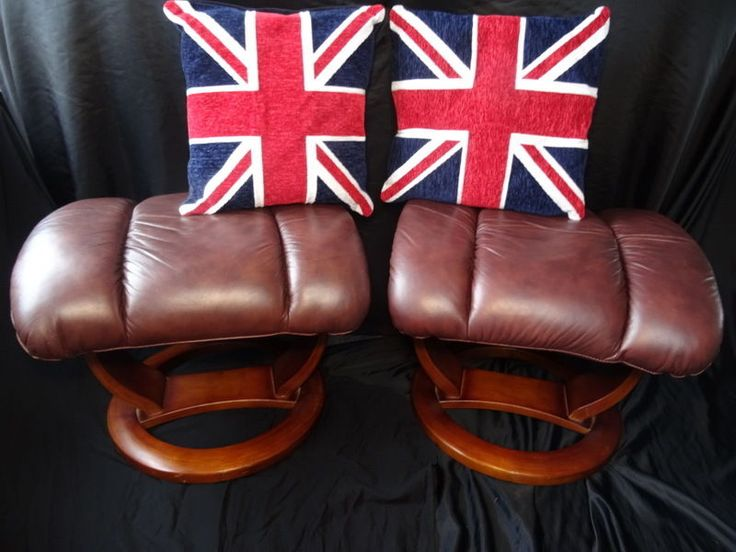 1 Vintage Art Deco Style Leather Footstool Antique Tan Brown & Best 25+ Leather footstool ideas on Pinterest | Leather chaise ... islam-shia.org