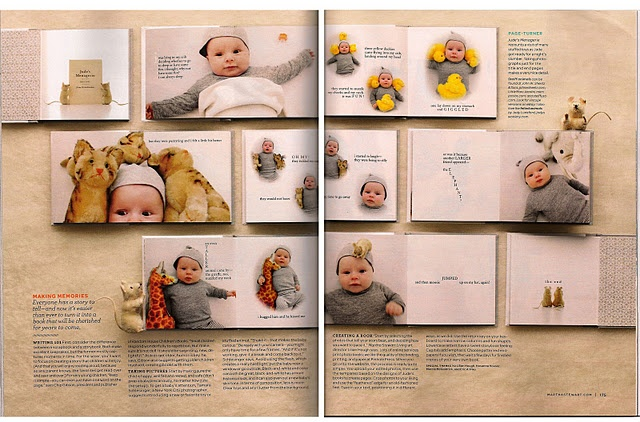 Amazing baby book idea.