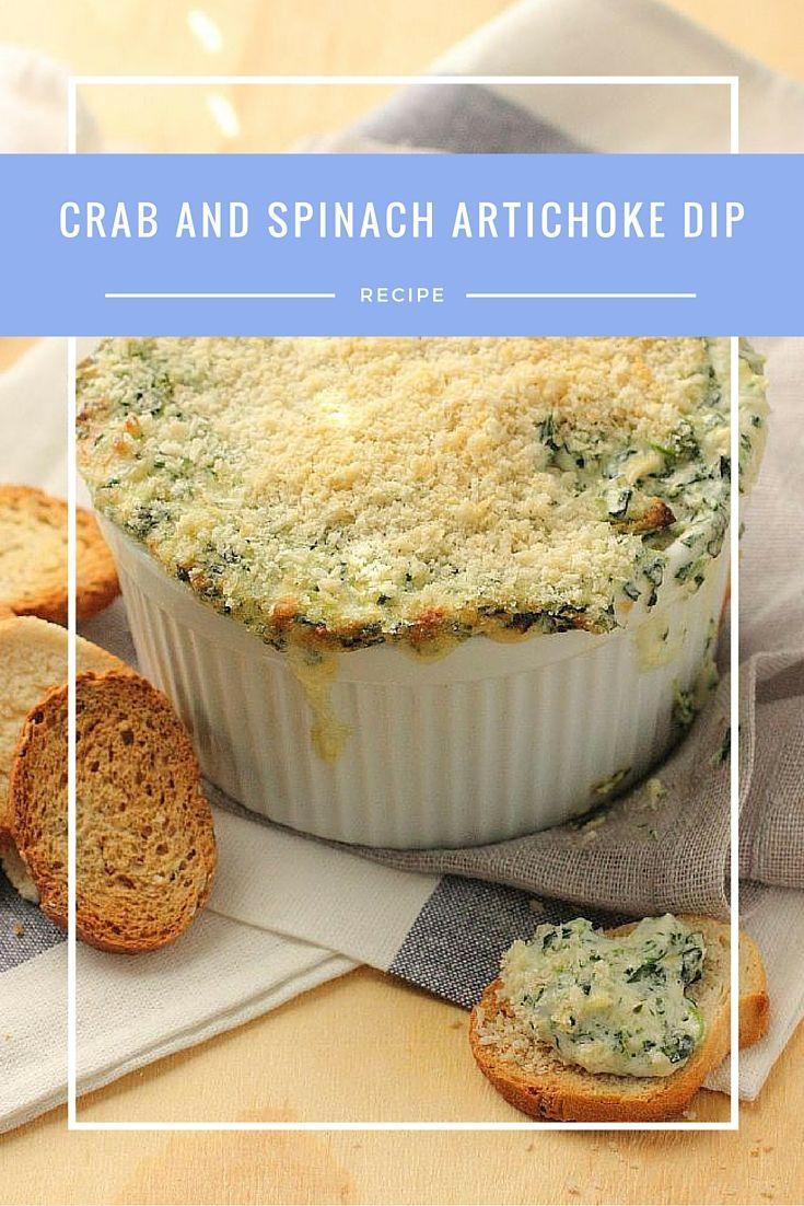 Artichoke and Crab Dip | Recipe | Spinach Artichoke Dip, Artichoke Dip ...