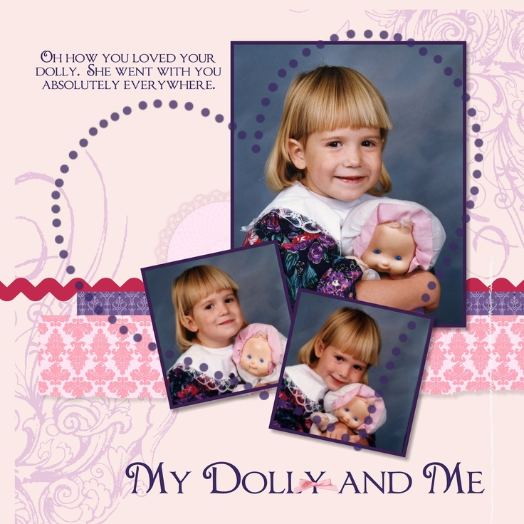 J J Creations - Myt Dolly and Me #stampinup #MDSMonday