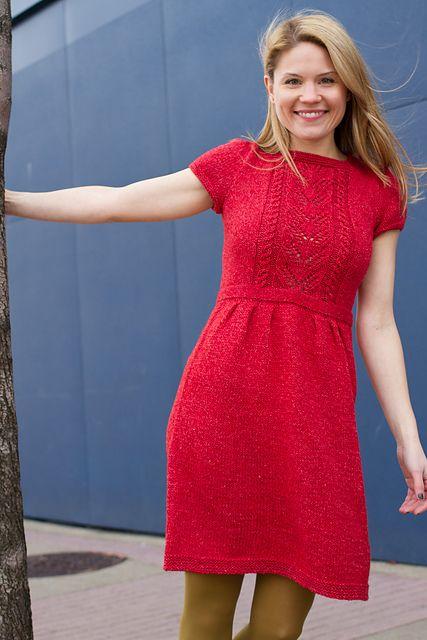 Ravelry: Fenton Dress pattern by pamela wynne, 10 ply gorgeous