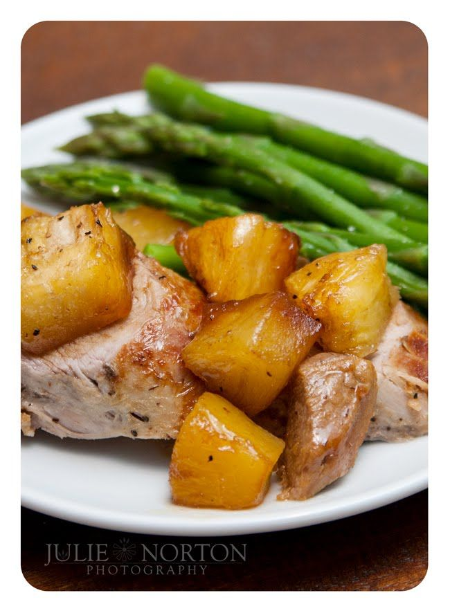 Julie's photo and ramblings of everyday life: Clean Eating  Pork tenderloin with pineapple