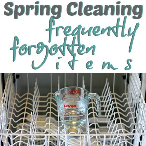 Daily Mom » Spring Cleaning: Frequently Forgotten Items