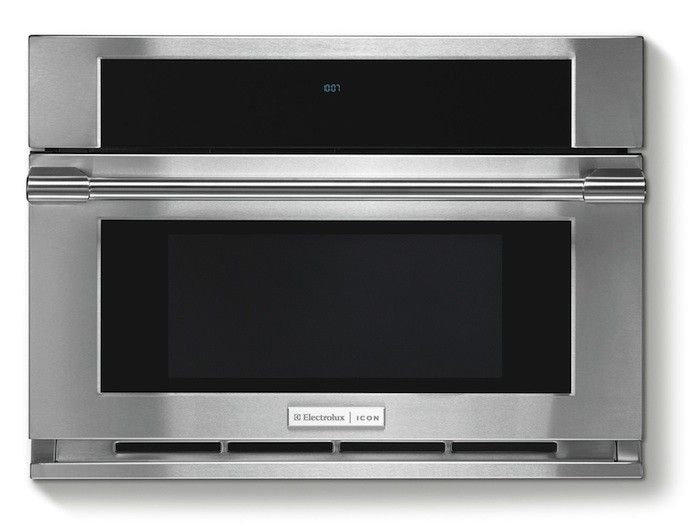 Electrolux Icon Professional Built-In Microwave, Remodelista